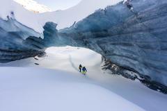 """Vorschaubild für Galerie """"Schweiz - Engadin Pontresina Gletscherhöhle"""" vom 13.01.2018"""