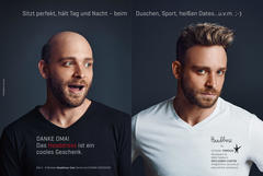 Advertising | Schenk Perücke | Vorarlbergerin Magazin
