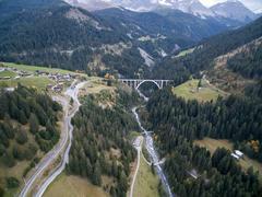 """Vorschaubild für Stock Bild """"img-20151003-151435-airview-langwieser-viadukt-00085"""""""