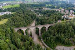 """Vorschaubild für Stock Bild """"img-20140810-102431-aerialstock-sitterviadukt-sbb-00006"""""""