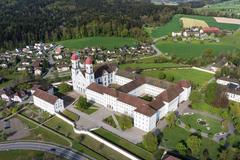 """Vorschaubild für Stock Bild """"img-20140424-173752-aerialstock-kloster-st-urban-00003"""""""