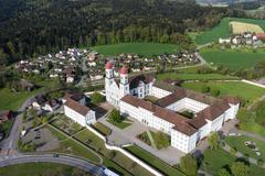 """Vorschaubild für Stock Bild """"img-20140424-173803-aerialstock-kloster-st-urban-00006"""""""