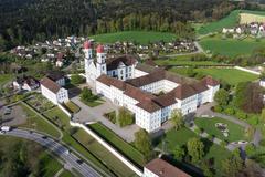 """Vorschaubild für Stock Bild """"img-20140424-173740-aerialstock-kloster-st-urban-00002"""""""