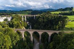 """Vorschaubild für Stock Bild """"img-20170819-182900-sitter-viadukt-00001"""""""