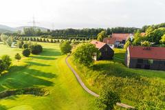 """Vorschaubild für Stock Bild """"img-20180607-201826-aerialstock-golfplatz-kyburg-winterthur-00007"""""""
