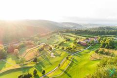 """Vorschaubild für Stock Bild """"img-20180607-202812-aerialstock-golfplatz-kyburg-winterthur-00028"""""""