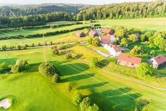 """Vorschaubild für Stock Bild """"img-20180607-201946-aerialstock-golfplatz-kyburg-winterthur-00011"""""""