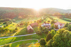 """Vorschaubild für Stock Bild """"img-20180607-203159-aerialstock-golfplatz-kyburg-winterthur-00035"""""""