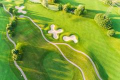 """Vorschaubild für Stock Bild """"img-20180607-202032-aerialstock-golfplatz-kyburg-winterthur-00014"""""""