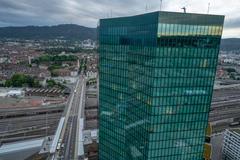 """Vorschaubild für Stock Bild """"img-20180621-210758-aerialstock-prime-tower-zuerich-00052-hdr"""""""