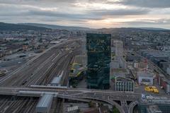 """Vorschaubild für Stock Bild """"img-20180621-205757-aerialstock-prime-tower-zuerich-00013-hdr"""""""