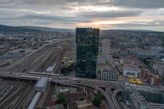 """Vorschaubild für Stock Bild """"img-20180621-205817-aerialstock-prime-tower-zuerich-00016-hdr"""""""