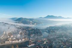 """Vorschaubild für Stock Projekt """"Luzern Nebelmeer"""""""
